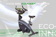 GROEN / SportsArt fitness is continu bezig om cardio apparatuur te ontwikkelen om het milieu te sparen.