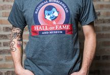 Merchandise / Official Merchandise from the National Bobblehead Hall of Fame and Museum. T-Shirts, Hoodies, Polos, Piggy Banks, Key Chains, and More. Check back often for more items.