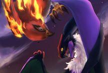 Talonflame i Noivern-❤❤❤