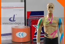 DL brand Kintape kinesiology tape