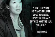 Cristina Yang quotes