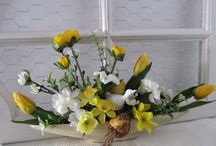wiosenne dekoracje na stół / o dekoracjach wiosennych