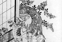 絵_鳥山 石燕/Sekien Toriyama
