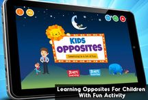 Learning Opposites for Kids / Now Kids can start recognizing shapes & objects easily with Learning Opposites Android and iOS App. http://bit.ly/KidsOpposites Available on iOS App Store; https://itunes.apple.com/us/app/kids-opposites/id652819621?mt=8 Its an educational App for kids which helps them quickly learn about opposites. The app contains fun