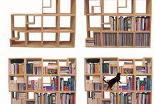 Bookshelves and shelving