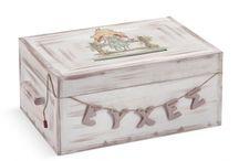 Κουτιά Ευχών βάπτισης / Κουτιά Ευχών βάπτισης  ΠΑΡΙΣΗΣ | Είδη Γάμου & Βάπτισης