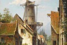 stadsgezichten 18 19 eeuw