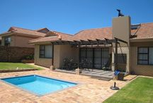"""SOLE MANDATE - Golf Park 3 - Heather Park. / """"Exceptional value in secure, sought-after estate"""" Space, top finishes, three bedrooms, a swimming pool and study. Asking R2 160 000. Call: Marlene 082 498 3096. #RealEstate #Properties #GardenRoute #HeatherPark"""