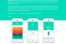 Startup splash pages