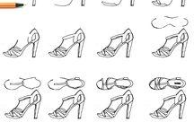 Schuhe Zeichnen
