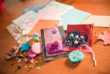 Mix It Up - Mixed Media Art / Sometimes you need to mix it up!  We love combining our wool felt, recycled paper and copper wire into beautiful works of mixed media art.  There's no limit on your creativity with mixed-media!