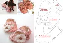 Выкройки платьев и обуви для кукол