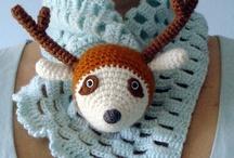 Crochet scarf, hat, wrap