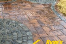 Mosaic Paver Patio & Walkway Hardscape - Hanover, PA / Mosaic Paver Patio & Walkway Hardscape project in Hanover, PA.