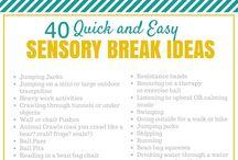 Proprioception/sensory breaks