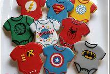 super heroes party treats
