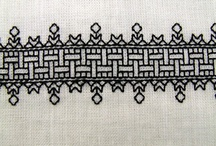 Blackwork embroidery / Embroidery patterns