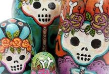 The Catrinas:Day of the Dead Skulls