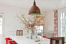 Time to eat / Dining rooms that I would cook for