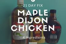 21 Day Fix Recipes! / Everything 21 Day Fix. Eating Clean! Eating Healthy! Rid the toxins  / by Janis Hueftle