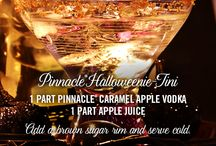 Pinnacle® Halloweenie- Tini / A flavor for everything that goes bump in the night. Pinnacle® Vodka has over 40 unique flavors to discover, enjoy and treat yourself with.