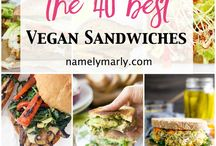 Vegan sandwich
