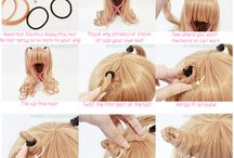 Hair Tutorials / To do!
