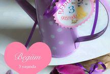 Hediyelik ciciler / Kızım doğum gününe gelen konuklarına hediye edecek