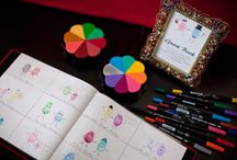 Guest Book. Favors. Keepsakes. / The special things you keep to remember an event.
