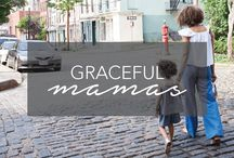 Graceful Mamas | Motherhood Encouragement / Defining motherhood on your own terms. Tips, advice and inspiration for the modern mom. Mommy-shamers need not apply! Motherhood humor, encouragement, support. http://www.happygrace.com/