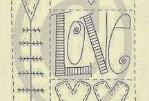 Stitching borduurwerk