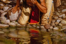 Native American: Art / Art which shows Native Americans or was done by a Native American from the past or present day.
