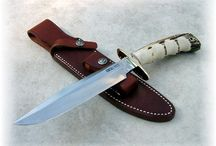 Hunting Knives Stag Handle