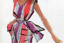 La mode / 1950 -1960-1970