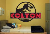 Logan's Jurassic World Bedroom