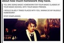 Harry Potter geeks! :p