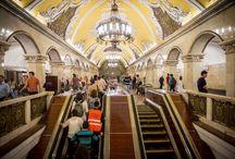 Moscow Metro like nothing else / by Tatiana Richey