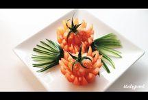 rajčata / Carving a netradiční servírování