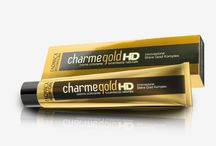 Charme Gold HD / Dalla ricerca dei nostri tecnici, nasce una nuova frontiera del colore, il 2015 sarà un anno dedicato al servizio numero 1 di Farmaca International / by Farmaca International