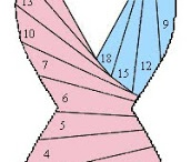 Iris folding patterns