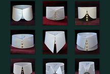 Blusen / Blusen mit hohem Kragen von Altissimo-Kragendesign