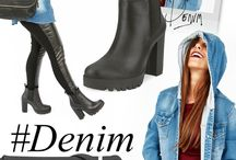 Street style / #Denim #chunky #leggins #leatherjeans #blogger #boties #boots #street #trends #celebritystyle #outfit #oodt #leatherflux #leggins #shoes #autumn #fall #2015 #wf2015 #winter #otoño #invierno #estilo #urbano #jeans #tendencias
