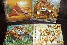 Detské knižky a leporelá / Pre našich najmenších vyrábam detské knižky a leporelá na témy zvieratá, kvety, ovocie a zelenina, dopravné prostriedky, atď...