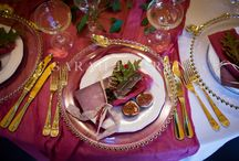 Gold Cutlery Hire for Weddings and Events