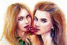 Roses War. Blue