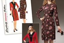 Retro Patterns I want to sew