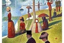 Georges Seurat / French artist (1859-1891)