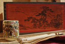 Caja para el té / Caja de madera para guardar el té