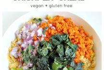 vegan sandwich prep