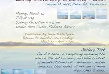 Shaun McNiff - Lesley University Professor - Creativity Forum Speaker - Books / Lesley University Creativity Forum, Shaun McNiff, University Professor speaks at the Lunder Arts Center, Monday, March 30th at 3:30.  Here is a description of his books.